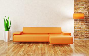Gul sofa ikea