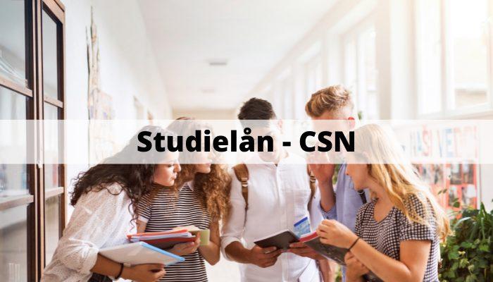 Studielån - CSN