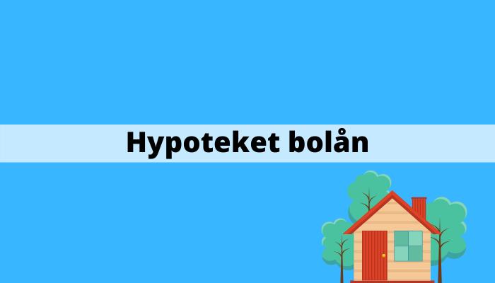 Hypoteket bolån