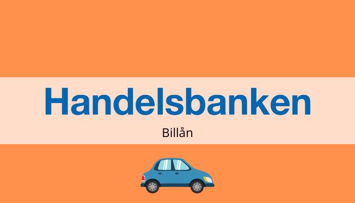 handelsbanken billån